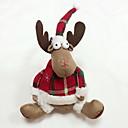 billige Mode Halskæde-god kvalitet juledekoration hjorte møde
