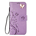 cheap Galaxy S Series Cases / Covers-Case For Samsung Galaxy S8 Plus / S8 Wallet / Card Holder / Rhinestone Full Body Cases Butterfly Hard PU Leather for S8 Plus / S8 / S7 edge