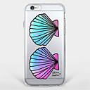 hesapli iPhone Kılıfları-Pouzdro Uyumluluk Apple iPhone 7 / iPhone 6 / iPhone 5 Kılıf Temalı Arka Kapak Kuyruk Yumuşak TPU için iPhone 7 Plus / iPhone 7 / iPhone 6s Plus