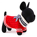 preiswerte Make-up & Nagelpflege-Katze Hund Pullover Weihnachten Hundekleidung Einfarbig Rot Blau Rayon / Polyester Kostüm Für Haustiere Herrn Damen Niedlich Neujahr