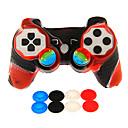 preiswerte PS3 Zubehör-Kabellos Spiel-Controller-Kits Für Sony PS3 . Neuartige Spiel-Controller-Kits Silikon / ABS 1 pcs Einheit