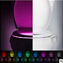 Χαμηλού Κόστους Πρωτότυπα φωτιστικά LED-1pc Πλαστική ύλη Μπουτίκ Πολυλειτουργία Φιλικό προς το περιβάλλον Δώρο Κινούμενα σχέδια φως Αξεσουάρ Άλλα αξεσουάρ μπάνιου