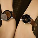 Недорогие Мужские часы-Муж. Наручные часы Кварцевый Кожа Синий / Цветной Аналоговый Классика На каждый день Мода - Черный Кофейный Красный Один год Срок службы батареи / Нержавеющая сталь / Tianqiu 377