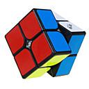 hesapli Sihirli Küp-Rubik küp QI YI 2*2*2 Pürüzsüz Hız Küp Sihirli Küpler bulmaca küp profesyonel Seviye / Hız Hediye Klasik & Zamansız Genç Kız