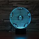hesapli LED Spot Işıkları-1 parça 3D Gece Görüşü Sensör Kısılabilir Su Geçirmez Renk Değiştiren LED Modern/Çağdaş