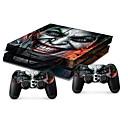 preiswerte PS4 Zubehör-B-SKIN Aufkleber Für Sony PS4 . Aufkleber PVC 1 pcs Einheit