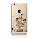 preiswerte iPhone Hüllen-Hülle Für Apple iPhone X iPhone 8 Plus iPhone 5 Hülle iPhone 6 iPhone 7 Transparent Muster Rückseite Cartoon Design Weich TPU für iPhone