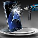 رخيصةأون حافظات / جرابات هواتف جالكسي J-حامي الشاشة إلى Samsung Galaxy S7 / S6 زجاج مقسي حامي شاشة أمامي
