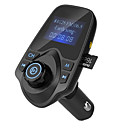 cheap Car Chargers-Hot Sale Bluetooth FM Transmitter Support TF Card U Disk Car Charger