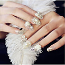 hesapli Makyaj ve Tırnak Bakımı-24 pcs Nail Jewelry pırıltılar / Moda Günlük Tırnak Tasarımı Tasarımı