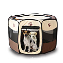 hesapli Banyo Gereçleri-Kedi Köpek Çadır Evcil Hayvanlar Taşıyıcı Katlanabilir Karton Sarı Gül Kahverengi Kırmzı Koyu Kırmızı