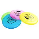 Недорогие Товары для ухода за собаками-Летающие тарелки Мультипликация Тарелка пластик Назначение Собака Игрушка для собак