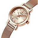 cheap Women's Watches-WWOOR Women's Quartz Wrist Watch Water Resistant / Water Proof Stainless Steel Band Charm Luxury Casual Fashion Silver Gold Rose Gold
