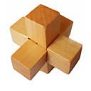 preiswerte Zauberrequisiten-Holzpuzzle / Knobelspiele / Kong Ming Geduldspiel Neuartige / Intelligenztest Hölzern Jungen / Mädchen Geschenk 1 pcs