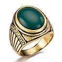 voordelige Ringen-Heren Ring - Modieus 7 / 8 / 9 Rood / Groen / Blauw Voor Feest / Dagelijks / Causaal