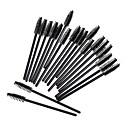 hesapli Makyaj ve Tırnak Bakımı-50pcs Makyaj fırçaları Profesyonel Kirpik Tarağı (Düz) / Kirpik Boyama Fırçası / Kirpik Fırçası Sentetik Saç / Suni Fibre Fırça Çevre-dostu / Profesyonel