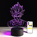 hesapli Fırın Araçları ve Gereçleri-1 parça 3D Gece Görüşü Uzaktan Kontrol / Renk Değiştiren / Küçük Boy Sanatsal / LED / Modern / Çağdaş