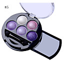 Buy 5 Colors Professional Shimmer Natural Eyes Makeup Pigment Eyeshadow Palette Metallic Nude Eye Shadow Powder Maquiagem