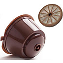 cheap Coffee Tools-Refillable Nescafe Dolce Gusto Capsules Reusable Pods Filters Cup