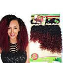 preiswerte Make-up & Nagelpflege-8 Bündel Brasilianisches Haar Kinky Curly / Wogende Wellen Unbehandeltes Haar Ombre 8-14 Zoll Ombre Menschliches Haar Webarten Haarverlängerungen