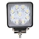 hesapli Motosiklet Aydınlatma-JIAWEN Araba Ampul 27W Yüksek Performanslı LED LED Çalışma Işığı / Kafa Lambası / Sis Işıkları