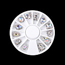 ieftine Machiaj & Îngrijire Unghii-1 pcs Metalic / Modă Drăguț / Multi-umbră / Spumos Zilnic Nail Art Design / Încântător