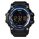 tanie Inteligentne zegarki-Inteligentny zegarek iOS / Android Krokomierze / Kamera / aparat / Informacje / Sportowy Rejestrator aktywności fizycznej / Rejestrator snu / siedzący Przypomnienie / Znajdź moje urządzenie / Media