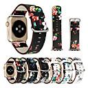 رخيصةأون ملصقات ديكور-حزام إلى Apple Watch Series 3 / 2 / 1 Apple بكلة كلاسيكية جلد طبيعي شريط المعصم