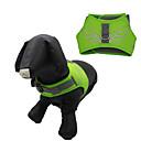 preiswerte LED-Scheinwerfer-Hund Geschirre Regolabile / Einziehbar Wasserdicht Reflektierend Cartoon Design Nylon Maschen Orange Dunkelblau Gelb Grün Hellblau