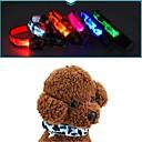 ieftine Huse Tastatură Mac-Pisici Câine Gulere Lumini LED anti-Scoarță camuflaj Nailon Galben Rosu Verde Albastru Roz