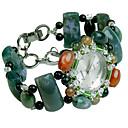ieftine Ceasuri Damă-Pentru femei Ceas La Modă Quartz Jade Verde Analog Verde