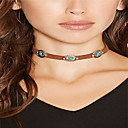 Buy Women's Choker Necklaces Jewelry Alloy Basic Vintage Bohemian Euramerican Simple Style Daily Casual