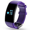 hesapli Erkek Saatleri-Akıllı Bilezik için iOS / Android Kalp Ritmi Monitörü / Kan Basıncı Ölçümü / Yakılan Kaloriler / Uzun Bekleme / Dokunmatik Ekran Kronometre / Aktivite Takipçisi / Uyku Takip Edici / Cihazımı Bul