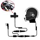 Buy Motorcycle Full Face Helmet Headset Earpiece Two Way Radio Walkie Talkie 365 Baofeng Kenwood Wanhua