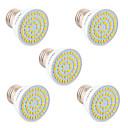 hesapli LED Spot Işıkları-YWXLIGHT® 5pcs 5 W 400-500 lm GU10 / GU5.3(MR16) / E26 / E27 LED Spot Işıkları 54 LED Boncuklar SMD 2835 Dekorotif Sıcak Beyaz / Serin Beyaz / Doğal Beyaz 110-220 V / 5 parça / RoHs