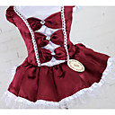 cheap Dog Clothing & Accessories-Dog Dress Dog Clothes Princess Dark Blue Red Dark Red Cotton Costume For Summer Men's Women's Casual / Daily Fashion