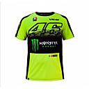 hesapli Motorsiklet ve ATV Parçaları-motog t-shirt riding suit motosiklet vr46 şövalye lokali pamuklu kısa kollu yarış t-shirt
