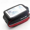 hesapli Bisiklet Çantaları-Cep Telefonu Çanta / Bisiklet Çerçeve Çantaları 5.7 inç Dokunmatik Ekran Bisiklet için iPhone 8 Plus / 7 Plus / 6S Plus / 6 Plus / iPhone X / Samsung Galaxy S8 / S7 / Note 7 Turuncu / 600D Polyester