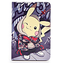 cheap iPad  Cases / Covers-Case For Apple with Stand / Flip / Pattern Full Body Cases Cartoon Hard PU Leather for iPad Air / iPad 4/3/2 / iPad Air 2 / iPad (2017)