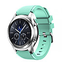 hesapli Motorsiklet ve ATV Parçaları-Watch Band için Gear S3 Classic Samsung Galaxy Spor Bantları Silikon Bilek Askısı