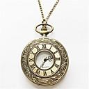 رخيصةأون ساعات الرجال-رجالي ساعة جيب كوارتز فضة / ذهبي مماثل ذهبي فضي