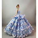 cheap Dollhouses & Accessories-Party/Evening Dresses For Barbie Doll For Girl's Doll Toy