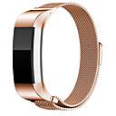 tanie Światła samochodowe-Watch Band na Fitbit Charge 2 Fitbit Pasek sportowy Stal nierdzewna Opaska na nadgarstek