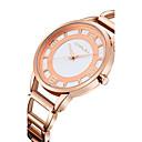 preiswerte Uhren Herren-Damen Uhr Luxus-Armbanduhren Modeuhr Quartz Edelstahl Silber / Gold / Rotgold 30 m Wasserdicht Analog Gold Silber Rotgold