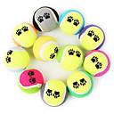 זול צעצועים לכלבים-כדור צעצועי לעיסה כדור טניס סְפוֹג עבור צעצוע לכלב