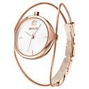 저렴한 반지-WeiQin 여성용 손목 시계 석영 뜨거운 판매 합금 밴드 아날로그 참 패션 실버 - 골드 / 화이트 로즈 골드 로즈 골드 / 화이트