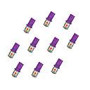 hesapli Car Signal Lights-Otolampara 10 parça pembe renk t10 w5w 5050 5smd araba led ışık