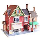 ieftine Becuri LED Corn-Puzzle 3D Distracție Lemn Clasic Pentru copii Unisex Jucarii Cadou