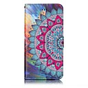 cheap iPhone Cases-Case For Apple iPhone 7 / iPhone 7 Plus Wallet / Card Holder / Embossed Full Body Cases Mandala Hard PU Leather for iPhone 7 Plus / iPhone 7 / iPhone 6s Plus