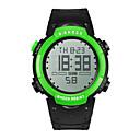 billige Mode Halskæde-Herre Dame Sportsur Digital Watch Kinesisk Digital Silikone Bånd Sort